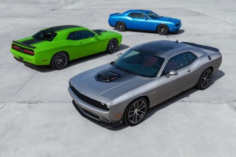 2015-Dodge-Challenger-front-rear-three-quarters